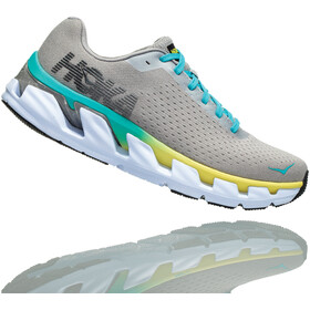 Hoka One One Elevon Running Shoes Women Lunar Rock/Silver Sconce
